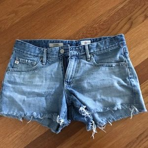 "AG ""The Bonnie"" denim shorts"